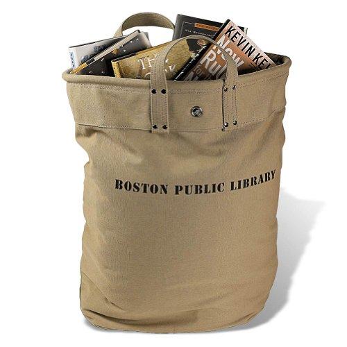 Levenger Boston Public Library Delivery Bag