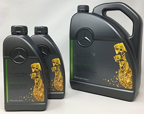 Original Mercedes Benz Motorenöl, 5W-30, Norm 229.51, 7l (1x5l und 2x1l)