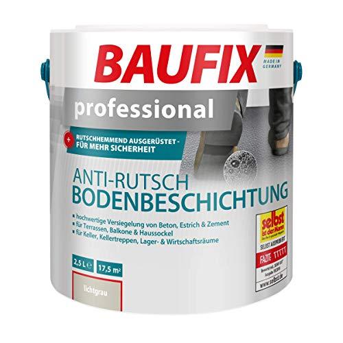 BAUFIX Professional Anti-Rutsch Bodenbeschichtung, lichtgrau, 2,5L