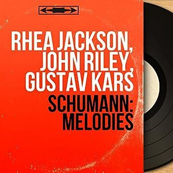Schumann: Mélodies (Mono Version)