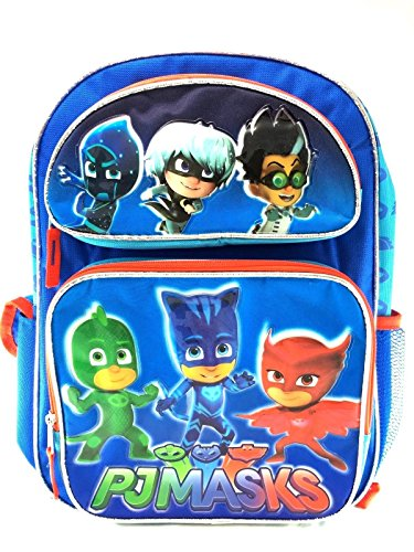 Disney PJmasks Boys/Girls Large 16' School Backpack