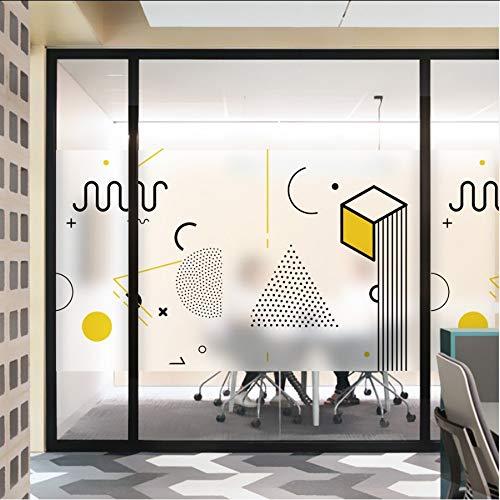 Djkaa glas in lood zelfklevende folie Polyethyleen PVC Frosted glas raamfolie ramen sticker 2019 Jane Eyre