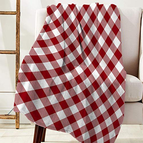 Manta Para Cuadros Buffalo Plaid Blanket 125 X 100CM