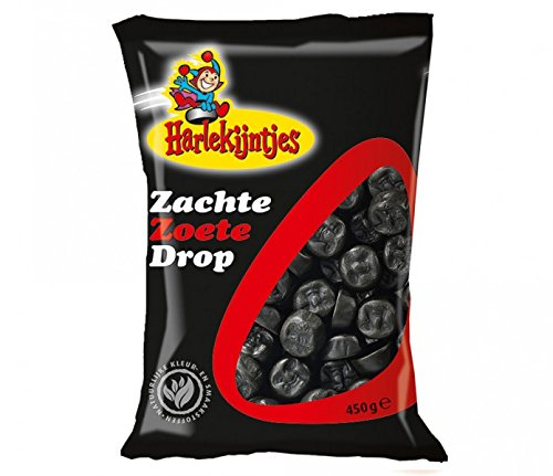 Harlekijntjes Zachte Zoete Drop (Weiches Süßes Lakritz) 400 g