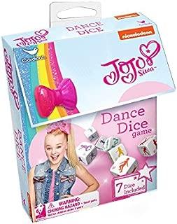 Cardinal Games JoJo Siwa Dance Dice Dance Dice Game