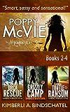 Poppy McVie Mysteries Books 2-4 (The Poppy McVie Box Set Series Book 2)