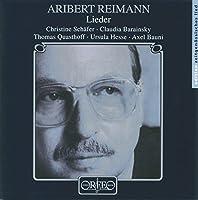 Lieder by ARIBERT REIMANN (1996-03-08)