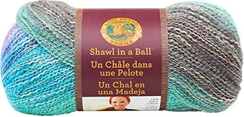 Leeuw merk Garen Lionbrand Sjaal in een bal