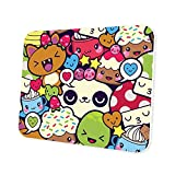 Cute Kawaii Mouse Pad - Anime Computer Laptop Mousepad for Kids Girls Boys Gaming Eco-Friendly Non-Slip Waterproof