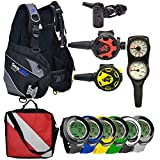 Divers Supply Scuba Package Special of The Month(Medium/Puck Pro Plus...
