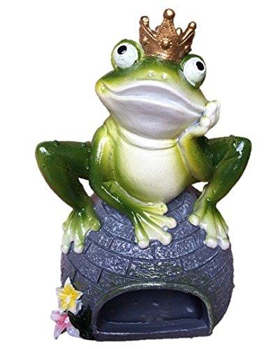 Greenkey Resin Frog/Toad castle