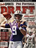 LINDY'S SPORT PRO FOOTBALL - ISSUE 52 / LINDY'S TOP 10 / DRAFT 2020 - JOE BURROW (COVER)