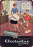 1960 Electrolux Vacuum Cleaners Metal Sign Poster Metal Sign 8X12 Inch