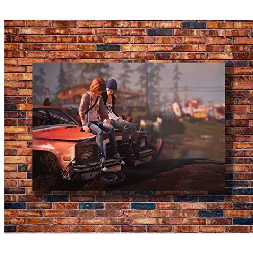 WSTDSM Life Is Strange Game Art Poster Lienzo Pintura Decoración del Hogar Sala De Estar Póster E Impresiones 24X36 Pulgadas X1 Sin Marco