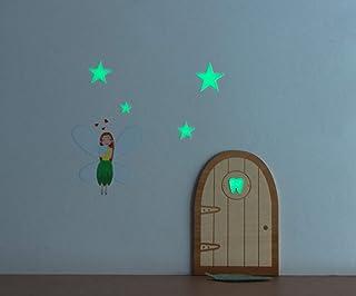 La fatina dei denti della porta magica si illumina al buio