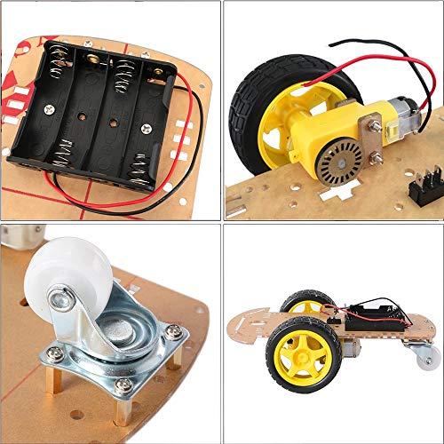 Ywzhushengmaoyi DIY Voguish Robot Car Chassis Kit For Arduinos Electronics Module Parts