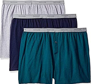 Fruit of the Loom Mens 7Pack Assorted Boxer Briefs 100/% Cotton Underwear 4XL