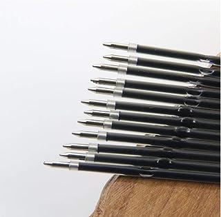 Forniture 10pcs Nero 0,7 Millimetri Penna a Sfera Refill Nero Ufficio Escolar di Scrittura Penna Roller Penna