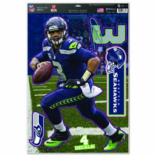 Originele NFL Seattle Seahawks stickerset