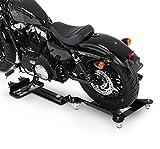 Pedana Sposta Moto per Harley Davidson CVO Street Glide (FLHXSE) ConStands M3 nero regolabile