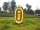 HFJKD Piscine, matériel de PVC épais Bateau de pêche Gonflable Bateau Gonflable Bateau Gonflable avec avirons Trois Bateau de pêche en Plastique Kayak