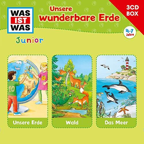 Was Ist Was Junior-3-CD Hörspielbox Vol.2 Erde