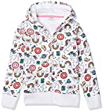 Spotted Zebra Girls' Kids Fleece Zip-Up Hoodie Sweatshirts, Unicorn, Medium