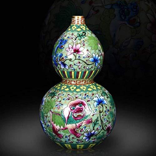 Vasen Keramik-Kunsthandwerk Keramik Blumenvase Schöne Wohnkultur Produkt-Kunst-Porzellan Wohnzimmer Dekorative Accessoires Emaille Porzellan Blumen
