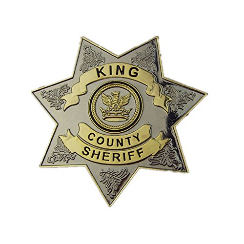 The Walking Dead King County Sheriff Rick Grimes Cosplay Metal