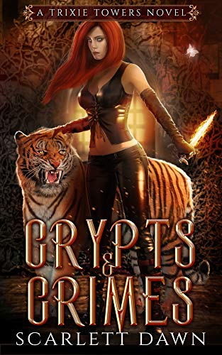 Crypts and Crimes (Trixie Towers Book 3) (English Edition)