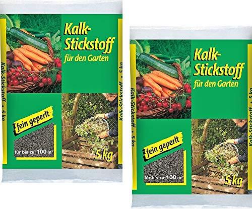 Kalkstickstoff 5kg fein geperlt Garten Dünger Kalk Gemüse Kompost