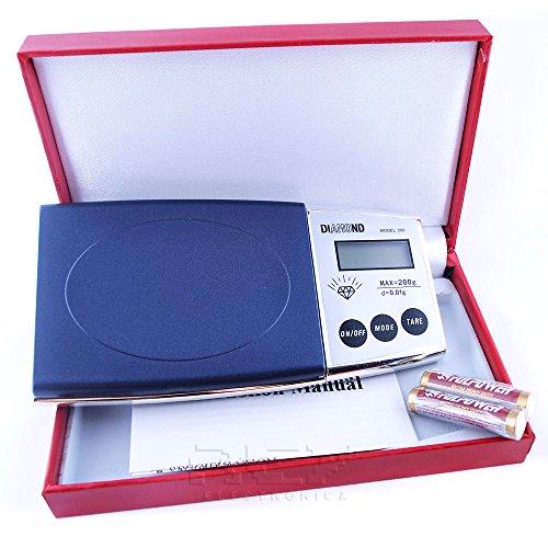 Báscula Digital de Precisión, Rango 0,1g a 1000g, Balanza Portátil, Peso Joyero, Minerales, Monedas, Numismática, Cocina, Alimentos, M3