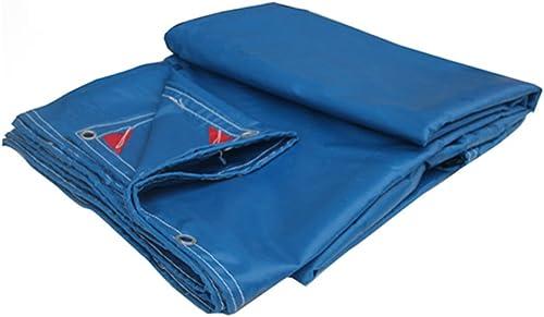 CAOYU épaisseur PVC imperméable à l'eau de Prougeection Solaire Toile bache Camion Couverture Poncho Multifonctionnel Tissu d'ombre