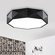Thoreosrad Led Creative Ceiling Lighting, Bedroom, Warm Art Geometry, Circular Living Room Lamp, Modern Minimalist Nordic ...