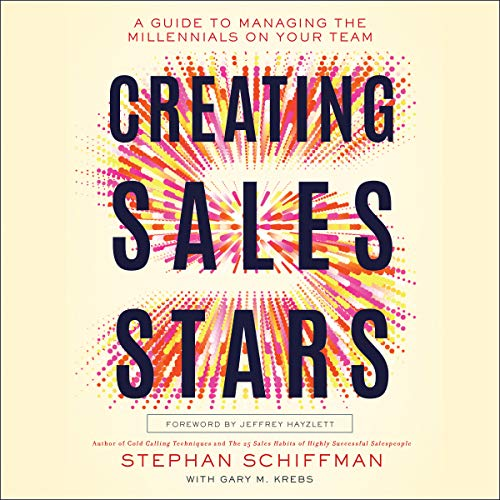 Creating Sales Stars audiobook cover art