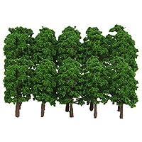 #N/A 40ピース/個モデルArchiteure 1:150のScaleeen木用品トレインパークミニ