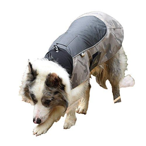 wasserdichter Hunderegenmantel, reflektierendes Nylonvlies, Hundeweste für kleine, mittelgroße und große Hunde