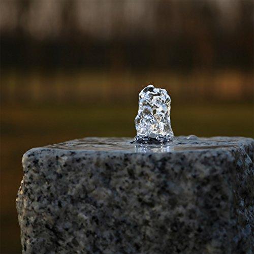CLGarden LED Ring weiß für Springbrunnen Beleuchtung Quellstein Teich Teichbeleuchtung Weiss