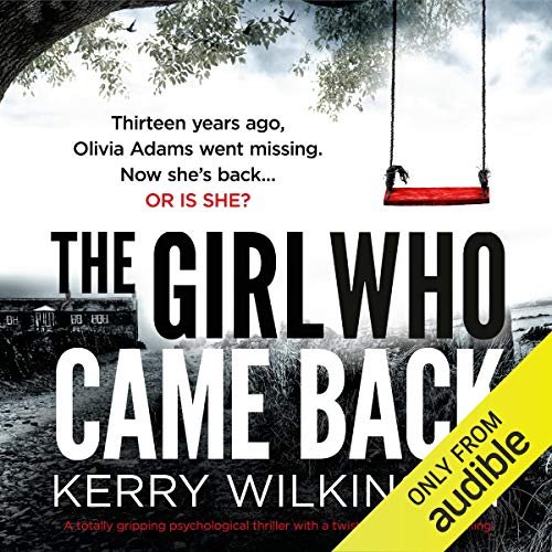 The Girl Who Came Back audiobook cover art