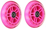 Razor PK A Scooter Series Wheels with Bearings (Set of 2), Pink