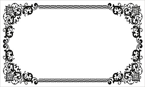 40 Decorative Rectangle Write-On Labels for Bottles & Jars, 2.5 x 1.5 Inches, White Matte Finish (Manchester)