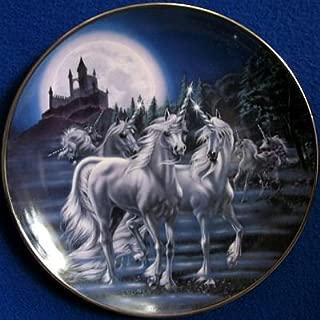 unicorn collector plates