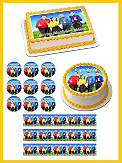 WIGGLES NEW Edible Cupcake Topper - 1.8
