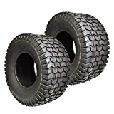 Two New 20x10.00-8 Lawn Tractor Tires 20x10-8 Turf Tires Tubeless Lawn Mower Tires