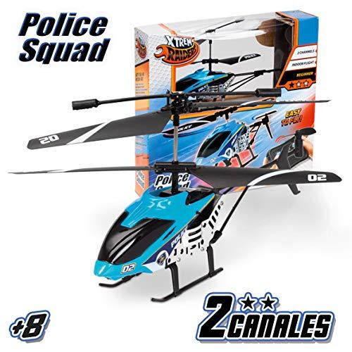 Xtrem Raiders- Police Squad, Juguete, teledirigidos, radiocontrol, Aviones a Control Remoto, helicopteros RC (Worldbrands XT280730)