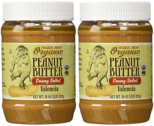 Trader Joe's Organic Peanut Butter Creamy and Salted, 1 lb