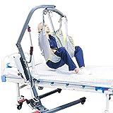 WLKQ Arnés De Elevación Paciente De Cuerpo Completo, Grúa de Paciente, Eslinga De Elevación con Accesorios De Bucle para Posicionamiento Y Elevación De La Cama,Enfermería, Cuidador 600Libras