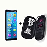 MYMAHDI Full Touch Screen Mp3 Player with Bluetooth 5.0 Up tp 128 GB with Mp3 Player Case