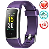 FITFORT Fitness Tracker with Blood Pressure HR Monitor -...