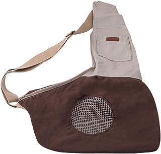 Clyine Tragbare Reisetasche Pet mit einfacher, atmungsaktiver Umhängetasche aus Segeltuch